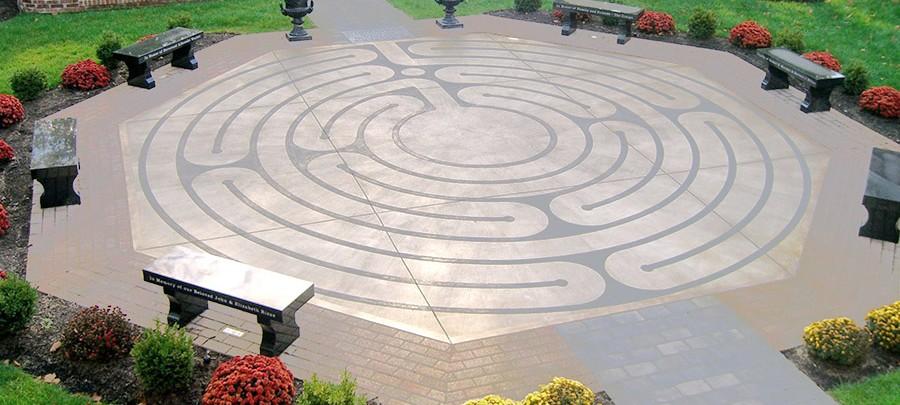 Meditation Garden | St. Andrew's United Methodist Church on labyrinth garden kit, english garden, labyrinth garden designs, labyrinth maze garden, labyrinth healing garden, religious art garden,